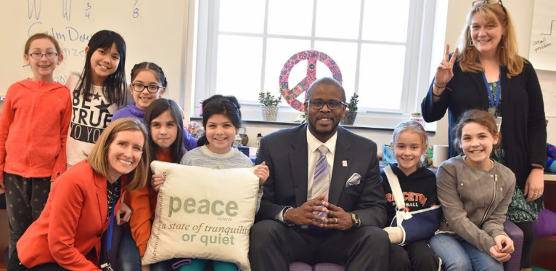 Lafayette Peace Program Highlighted by DCPS