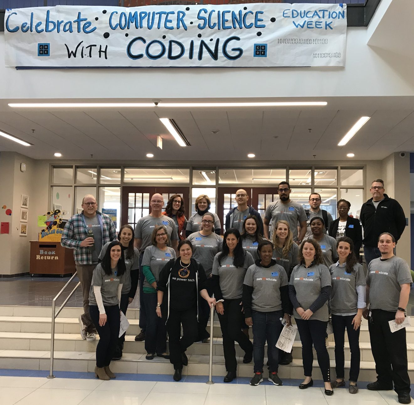Thank you for Supporting Computer Science Education Week!