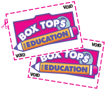 Collect and Bring In Your Box Tops!