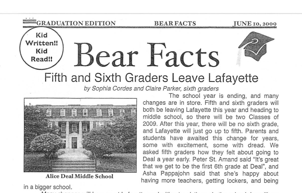See The Bear Facts From a Decade Ago!