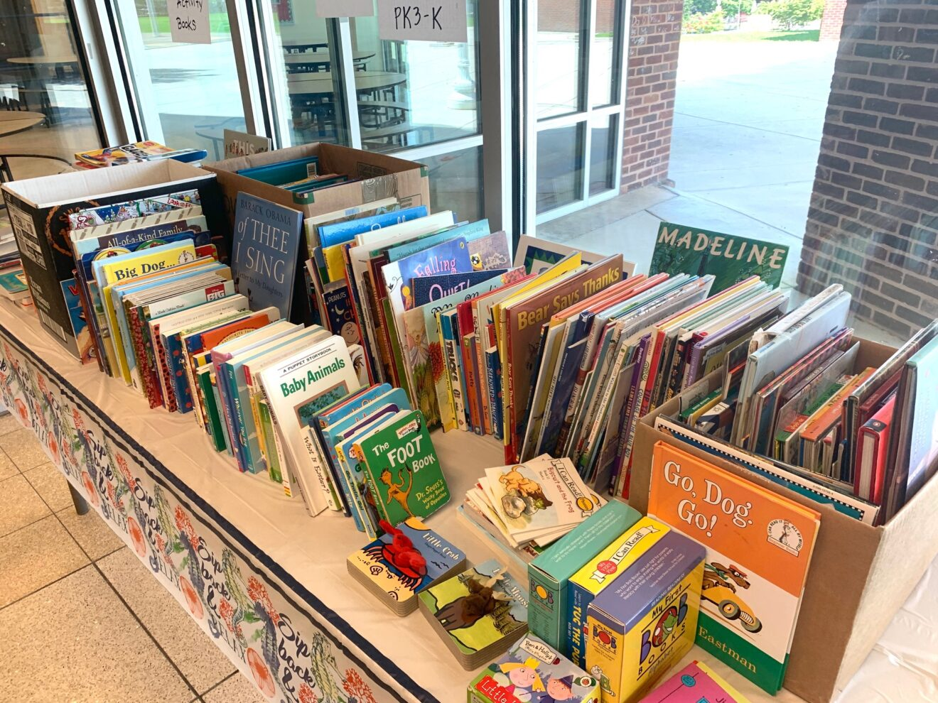 Lafayette Gives Back Book Drive Update